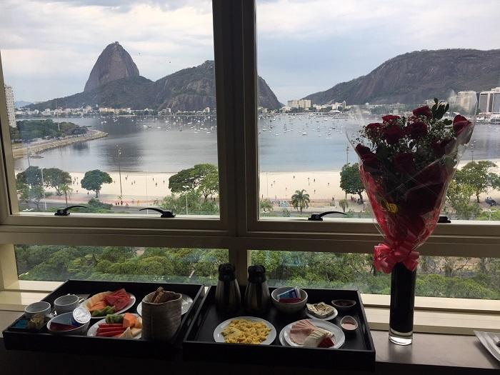 café da manhã no quarto, hotel Yoo2, Rio de Janeiro