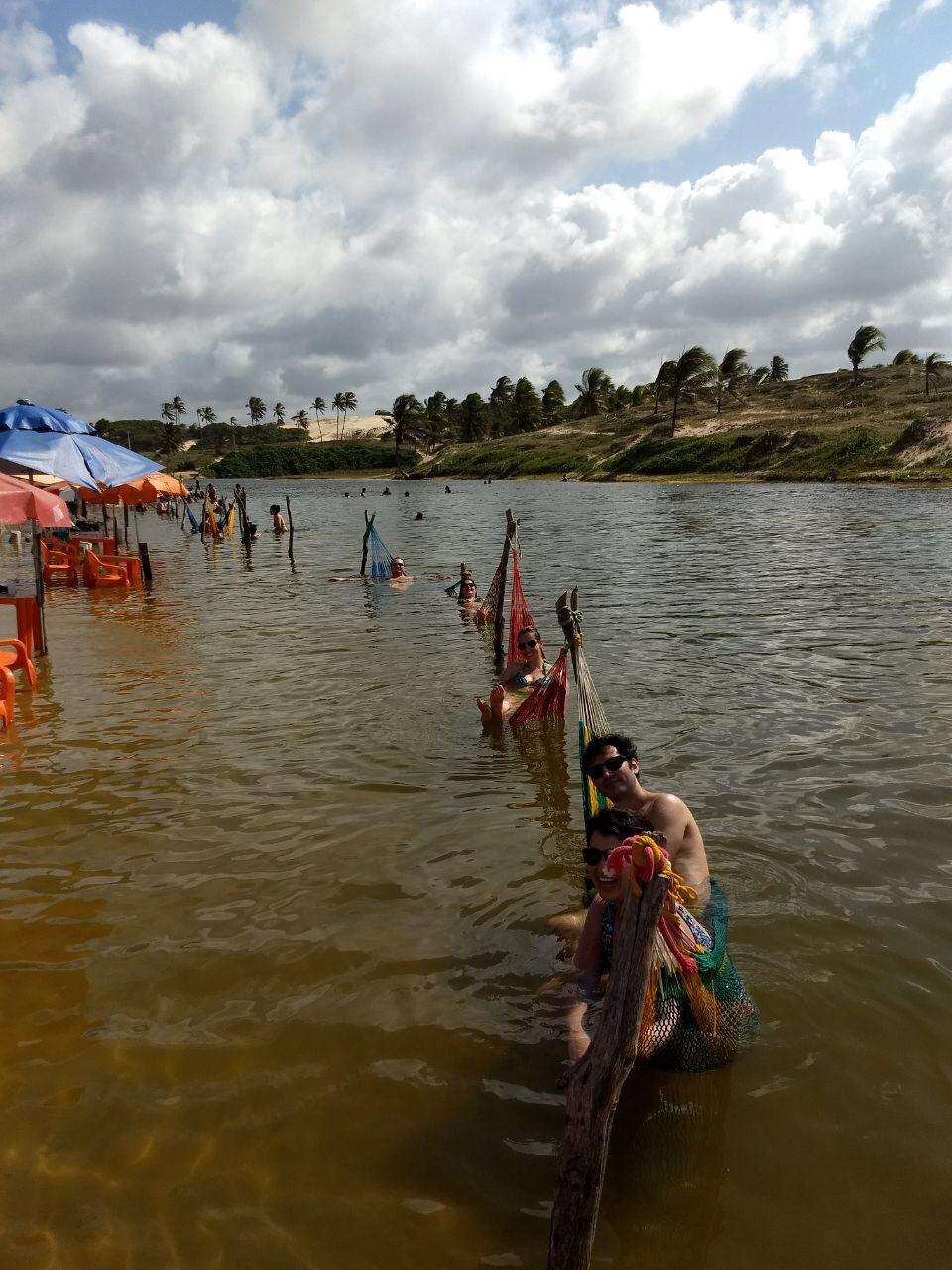 Um feriado em Natal - Lagoa Piracabu - em Maracajaú