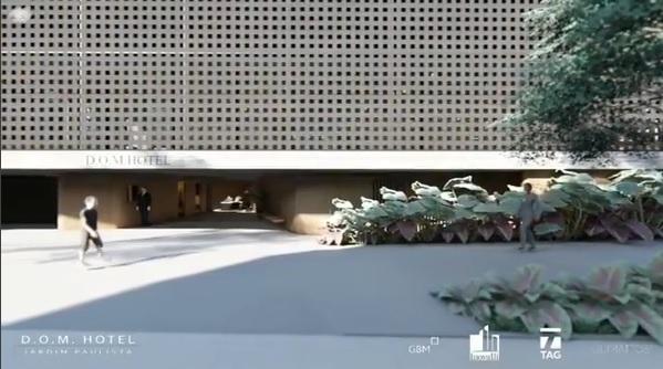 novos hoteis - Hotel DOM